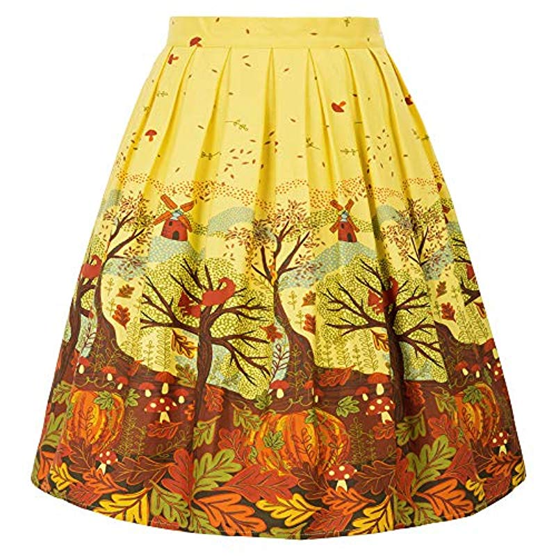Women Vintage-Skirt GRACE KARIN