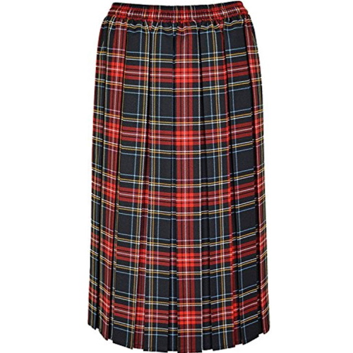 RG-Clothing Ladies Tartan Skirt