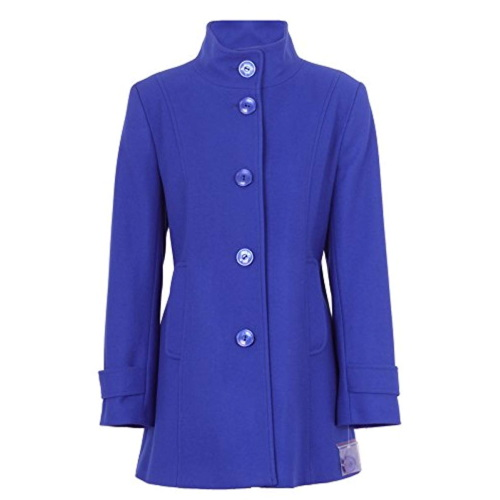 WOMENS ROYAL-BLUE COAT