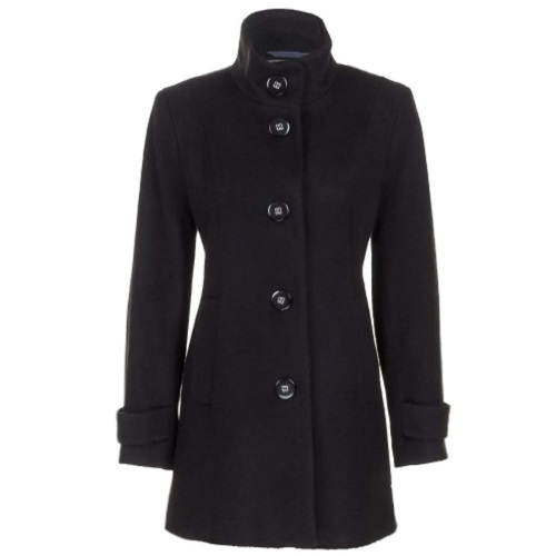 WOMENS WOOL BLEND COAT