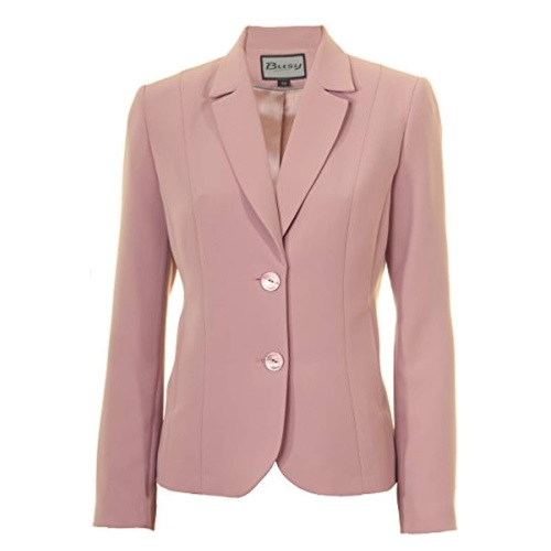Women Suit Jacket Dusty-Pink