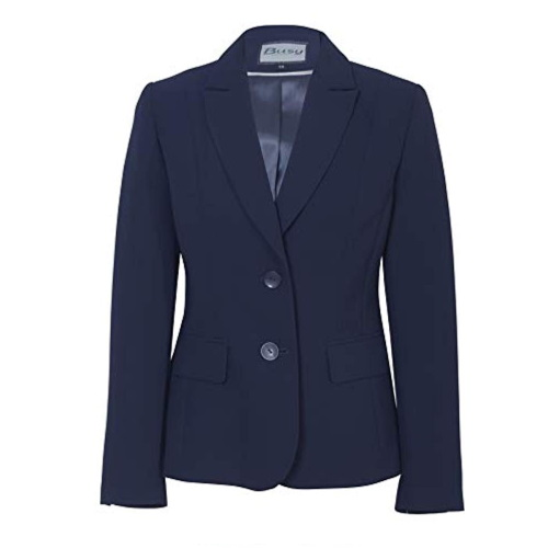 WOMEN SUIT JACKET NAVY